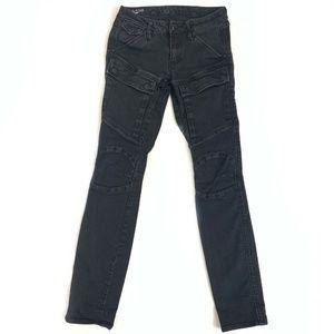 G Star Raw Skinny Cargo Jeans Womens Size 25x30